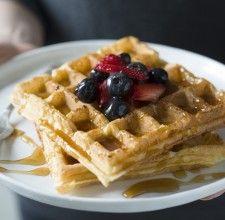 Waffle Tips via @kingarthurflour