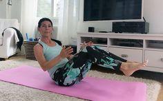 Hemmaträning 30 min för rumpa och mage Yoga Gym, Yoga Fitness, Health Fitness, Tabata, Excercise, Pilates, Workout, Motion Video, Denver