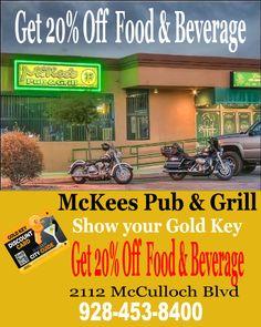 Havasu Gold Key Discount Card | Get Deals in Lake Havasu