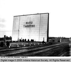 East Side Auto Theater, Terre Haute 1956