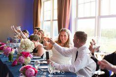 Wedding Toast! #plymouthccweddings #kerophotography #navyandfuschia Wedding Toasts, Plymouth, Club, Weddings, Country, Rural Area, Wedding, Country Music, Marriage