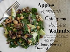 love the way she represents this salad and we need to try this one!