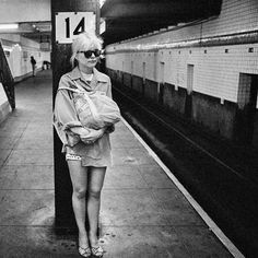 """20thcentury: """"Debbie Harry photographed by Chris Stein """""""