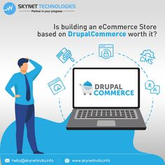 There are many options to build your ecommerce store. One of them is Drupal! But, will Drupal Commerce suit your business? 🤔 #Drupal #OnlineStoreDevelopment #DrupalCMS #Drupal9Migration #DrupalMigration #DrupalCommerce #DrupalDevelopers #EcommercePlatform #EcommerceDevelopment #EcommerceSolution #CMS #EcommerceStore #Europe #Switzerland #Nevada #Florida #Gainesville #Ohio #USA #UK #Australia Ohio Usa, Ecommerce Store, Ecommerce Solutions, Ecommerce Platforms, Drupal, Nevada, Switzerland, Florida, Europe