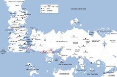Gli Arcani Supremi (Vox clamantis in deserto - Gothian): Mappa dell'universo di Game of Thrones