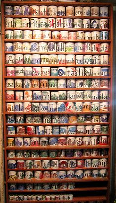 I would love if my Starbucks City Mugs collection grew to this! ;o) it would mean I had traveled the world!