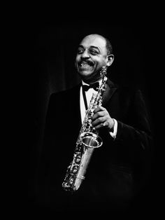 "BENNY CARTER  on sax: ""It's Easy to Blame the Weather"""
