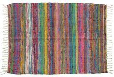 One Kings Lane - Vintage Under $250 - Moroccan Rag Rug, 4' x 3'