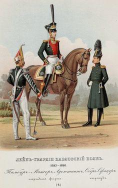 Тамбур-мажор, адъютант и обер-офицер Лейб-гвардии Павловского полка. 1813-1816 гг.
