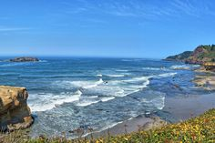 For a relaxing road trip with out-of-this-world ocean views, hop on Highway 101 and cruise down Oregon's coast. You could stop at every small town and overlook along the way, and probably continue to be moved. It's hard to narrow down, but here are our favorite 10 stops along the Oregon coast, spanning cities, quirky restaurants, historical sites and beaches.
