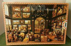 Educa 8000 Piece Jigsaw Puzzle  Alejandro Magno Visiting Apelles Studio  #Educa