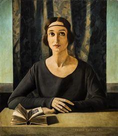Felice Casorati -Ritratto di Cesarina Gualino, 1922