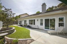 #charming #1story #home #cul-de-sac #Bridgewater #Encinitas #Light, #bright, and #airy #realestate #homeforsale #realtor #dreamhome #backyard #grass #yard  www.1630OrchardWoodRoad.com