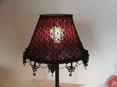 Corset lampshade pink lamp shade pinterest corset lampshades anat boontjes handmade aloadofball Image collections