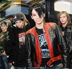 Tokio Hotel | Bill Kaulitz, Tom Kaulitz, Georg Listing & Gus… | Flickr