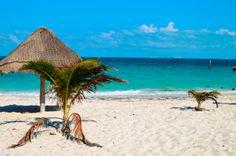 A great day trip from Cancun: Isla Blanca beach.