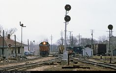 RailPictures.Net Photo: MILW 133 Chicago, Milwaukee, St. Paul & Pacific EMD SD40-2 at Watertown, Wisconsin by Tom Farence