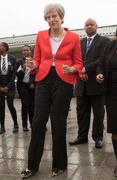 Theresa May, Lady, Style, Fashion, Swag, Moda, Fashion Styles, Fashion Illustrations, Outfits