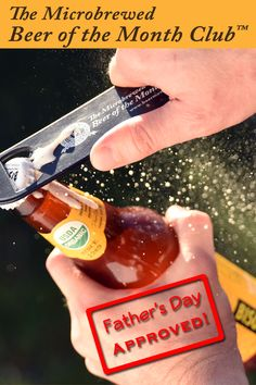 A Father's Day Gift that keeps on giving. Discover the world's best beers, without traveling the globe to find them. Beer Of The Month, Beer Club, Beer Gifts, Beer Lovers, Craft Beer, Fathers Day Gifts, Globe, Traveling, Bottle