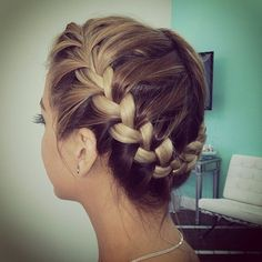 Crown braid by @blowmedryla ✨. Love it? or Not? by @braidphotos was liked by the outdoor wicker furniture experts!