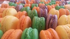 French Macaron in Fall flavors