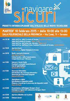 Safer Internet Day: a Teramo si parla di rete e sicurezza - Attualità - Primo Piano Internet, Day