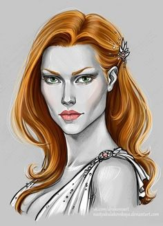 Lytta Neyd (Coral) by Anastasia Kulakovskaya (Witcher)