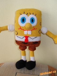 Háčkovaný Spongebob
