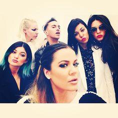 Kardashian selfie.