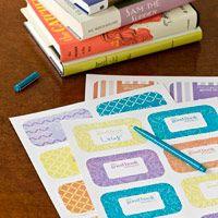 Craft Idea: Free, Fun Bookplates