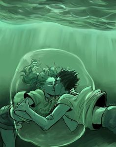 O melhor beijo subaquático de todos os tempos ❤️