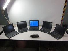 lot of 5 Dell Latitude XT BIOS Wireless Laptops Intel Core 2 Duo 1.33GHz 1GB