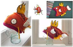 Incredible Knitted Magikarp Hat By Kim Denise – Pokémon Fans, This is a Must-See! | KnitHacker | Bloglovin'