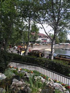 Classic Woody Car show in the Lake Arrowhead Village