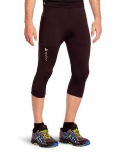 Odlo Herren Hose Running Tights 3/4 Uni Active Run: Amazon.de: Sport & Freizeit