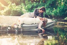 Love is a Boat shoot via Three Nails Photography
