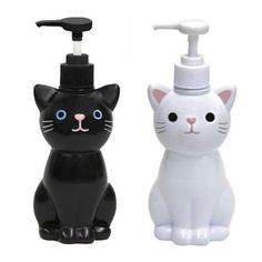 ♥ Cool Cat Stuff ♥ Cat hand soap Dispensers