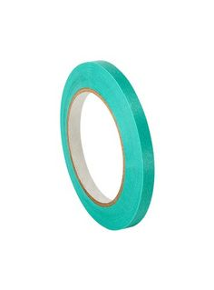 """3M 2480s 0.125"""" x 60yd Green Flat Back Masking Tape 0.125"""" x 60 Yards, 1 Roll >>> undefined"""