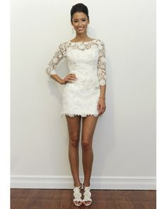 This would be a fun reception dress or just a short wedding dress. the lace jessicashley This would be a fun reception dress or just a short wedding dress. the lace This would be a fun reception dress or just a short wedding dress. the lace Short Lace Wedding Dress, Wedding Gowns, Wedding Mandap, Wedding Receptions, Wedding Outfits, Modern Trousseau, Vestido Dress, Rehearsal Dinner Dresses, Rehearsal Dinners