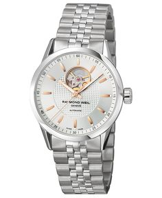 Raymond Weil Freelancer Stainless Steel Men's Watch available at Luxury Watches, Rolex Watches, Watches For Men, Chanel Watch, Raymond Weil, Automatic Watch, Stainless Steel Bracelet, Casio Watch, Vintage Watches