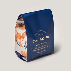 I would buy this cocoa only for the packaging - packaging - Chocolate Luxury Packaging, Food Packaging Design, Beverage Packaging, Coffee Packaging, Coffee Branding, Print Packaging, Packaging Design Inspiration, Bottle Packaging, Product Packaging Design