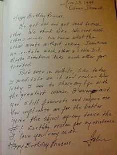 A letter Johnny Cash wrote to.his wife ❤❤