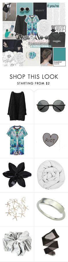 """""""i want to ride my bicycle"""" by kristen-gregory-sexy-sports-babe ❤ liked on Polyvore featuring Chanel, MLC Eyewear, Monki, ASOS and The Fine Bedding Company"""