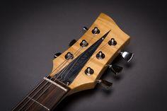 Bassart Guitars Barracuda headstock