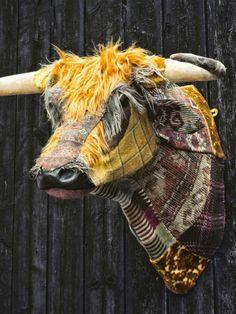 Dougal the Highland Bull by Carola van Dyke