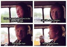 My Favourite Ginger... (ed sheeran,awesomeness,funny)