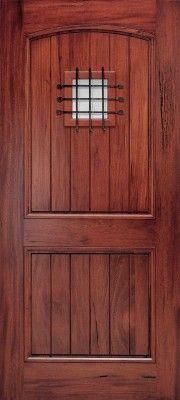 want a double speak ez door at front