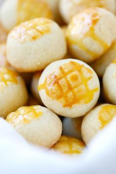 Best-ever pineapple cookies or pineapple tarts - buttery, crumbly and melt-in-your-mouth pastry with pineapple filling, the best pineapple tarts ever   rasamalaysia.com