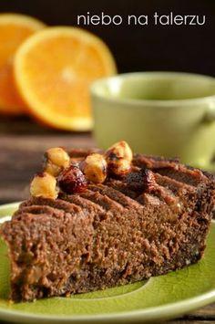 Tarta z kaszy jaglanej Baby Food Recipes, Sweet Recipes, Cooking Recipes, Healthy Recipes, Healthy Cake, Healthy Sweets, Healthy Food, Eat Happy, Good Food