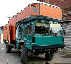 The Flying Tortoise: Tiny Gutsy Homes On Wheels To Take You Here There Or Anywhere. Cool Campers, Rv Campers, Man Kat, Small Diesel Generator, Rv Motorhomes, Off Road Camping, Bug Out Vehicle, Truck Camper, Pickup Camper